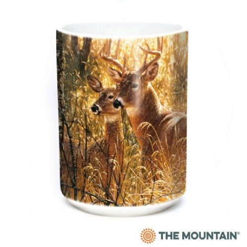 Golden Moment Deer Ceramic Mug | The Mountain®